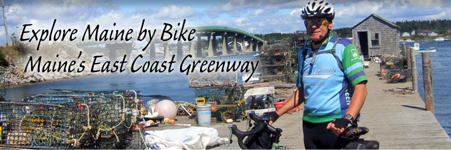 Explore Maine By Bike Tour Maines East Coast Greenway Overview - Map of eastern maine