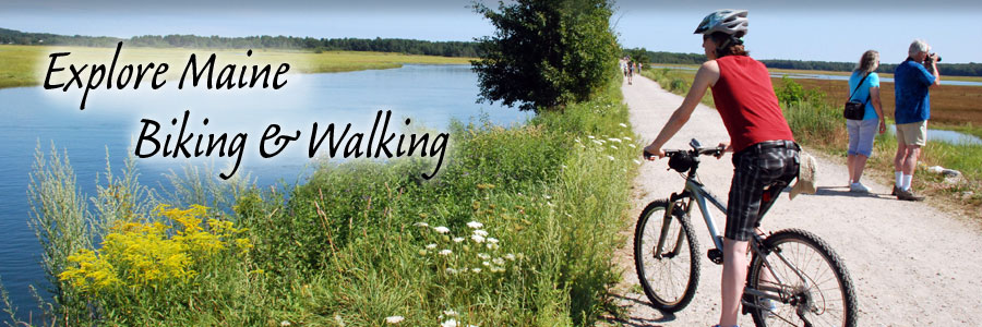 Explore Maine: biking & walking