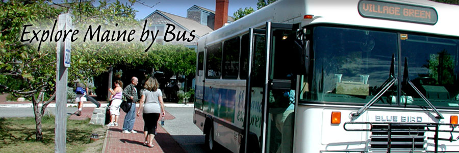 Click to Explore Maine by Bus