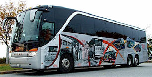White Cyr Bus