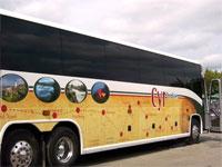 Yellow Cyr Bus