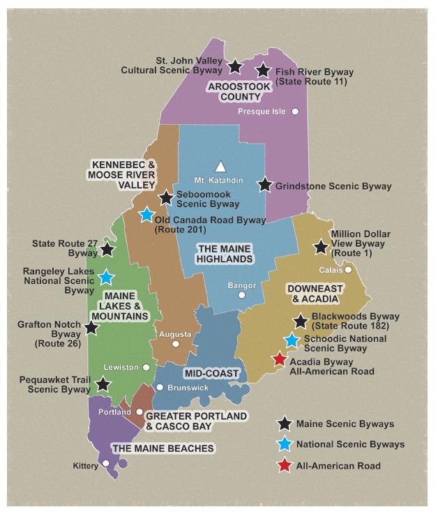 Explore Maine Scenic Byways